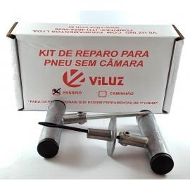 KIT REPARO DE PNEU PASSEIO VILUZ