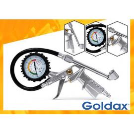 CALIBRADOR COM MANÔMETRO 200 psi GOLDAX