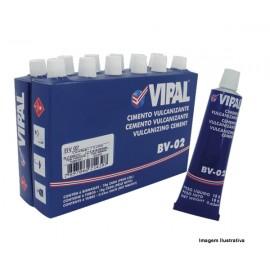 COLA PARA REPARO FRIO 25ml BV 02 VIPAL (12 Bisnagas 18gr)